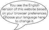 You see a specific language version of this website based on your browser preferences. Please choose your language here if you want to see it in another language.