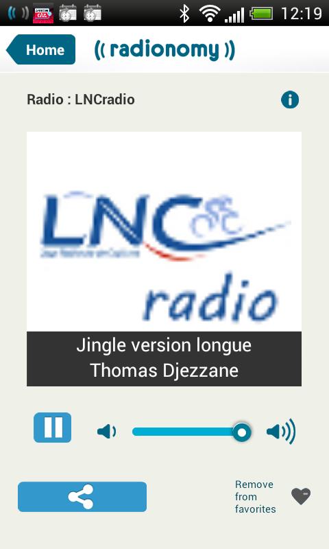 Écoutez LNC radio