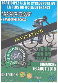 Invitation cyclo La Madeleine