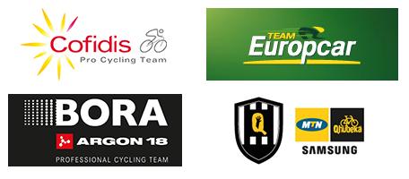 Les équipes invitées sur wildcard pour le Critérium du Dauphiné 2015