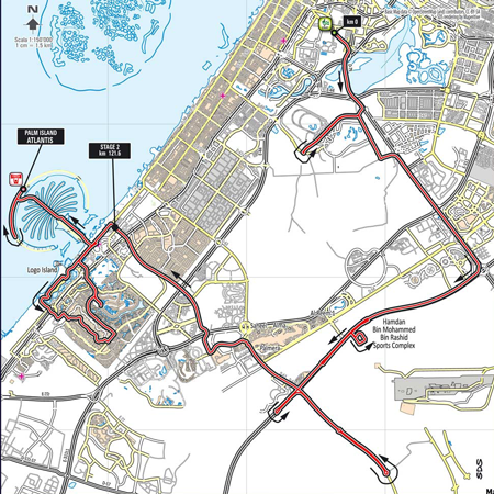 Stage 2 - Dubai Tour 2014