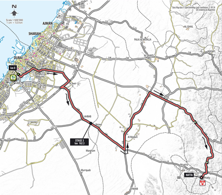 Stage 3 - Dubai Tour 2014