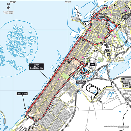 Stage 4 - Dubai Tour 2014
