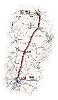 04 - Savigliano > Cuneo - route