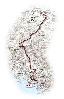 06 - Fidenza > Carrara - route