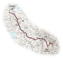 08 - Chianciano Terme > Monte Terminillo - route