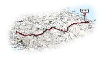 10 - Avellino > Bitonto - route