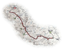 11 - Lucera > L'Aquila - route