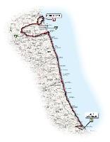 12 - Città Sant'Angelo > Porto Recanati - route