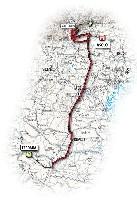 14 - Ferrara > Asolo - route