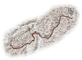 17 - Brunico > Peio Terme - route