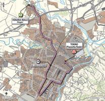 01 - Venaria Reale > Torino - stage route