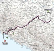 03 - Reggio Emilia > Rapallo - stage route