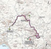 07 - Maddaloni > Montevergine di Mercogliano - stage route