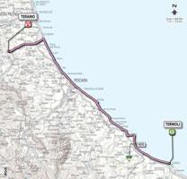 10 - Termoli > Teramo - stage route