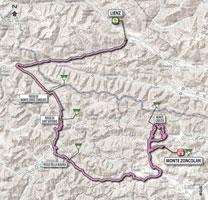 14 - Lienz > Monte Zoncolan - parcours