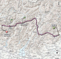 17 - Feltre > Sondrio - parcours