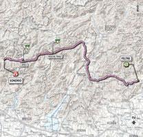 17 - Feltre > Sondrio - stage route