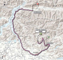 18 - Morbegno > San Pellegrino Terme - stage route