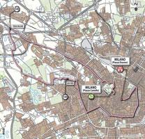 21 - Milano > Milano - stage route