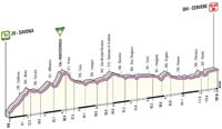 Profil 13ème étape Giro d'Italia 2012