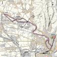 Carte 4ème étape Giro d'Italia 2012