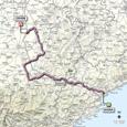 Carte 13ème étape Giro d'Italia 2012