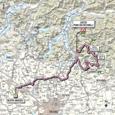 Carte 15ème étape Giro d'Italia 2012