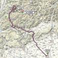 Carte 19ème étape Giro d'Italia 2012