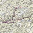 Carte 20ème étape Giro d'Italia 2012