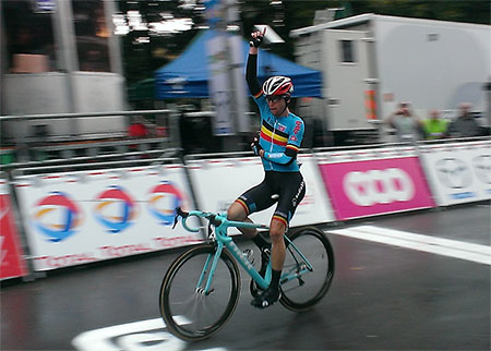 Jan Bakelants remporte le Grand Prix de Wallonie 2013 - photo © Nicolas Rougeon
