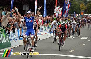 Arnaud Démare (FDJ.fr) remporte le Grand Prix d'Isbergues