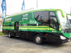 The bus of Team Europcar