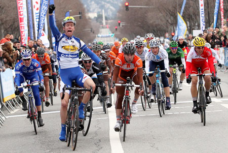 Kenneth Vanbilsen wins the Marseillaise - © Bruno Bade / LNC