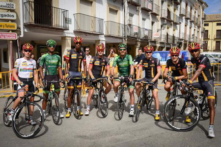 The 8 African riders at the 2014 Vuelta