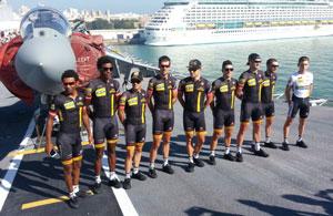 Team MTN-Qhubeka in Cadiz