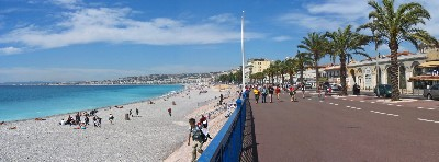 The Promenade des Anglais in Nice