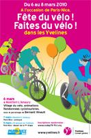 L'affiche de la manifestation Fête du vélo - Faites du vélo pour Paris-Nice 2010