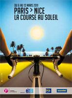 L'affiche de Paris-Nice 2011 - © ASO
