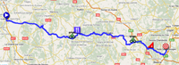 le parcours de paris nice 2011 sur google maps google. Black Bedroom Furniture Sets. Home Design Ideas