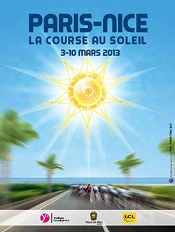 Poster Paris-Nice 2013