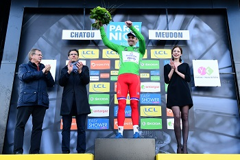 Arnaud Démare wearing the green jersey - © ASO/Alex BROADWAY