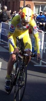 David Millar - le gagnant du prologue de Paris-Nice