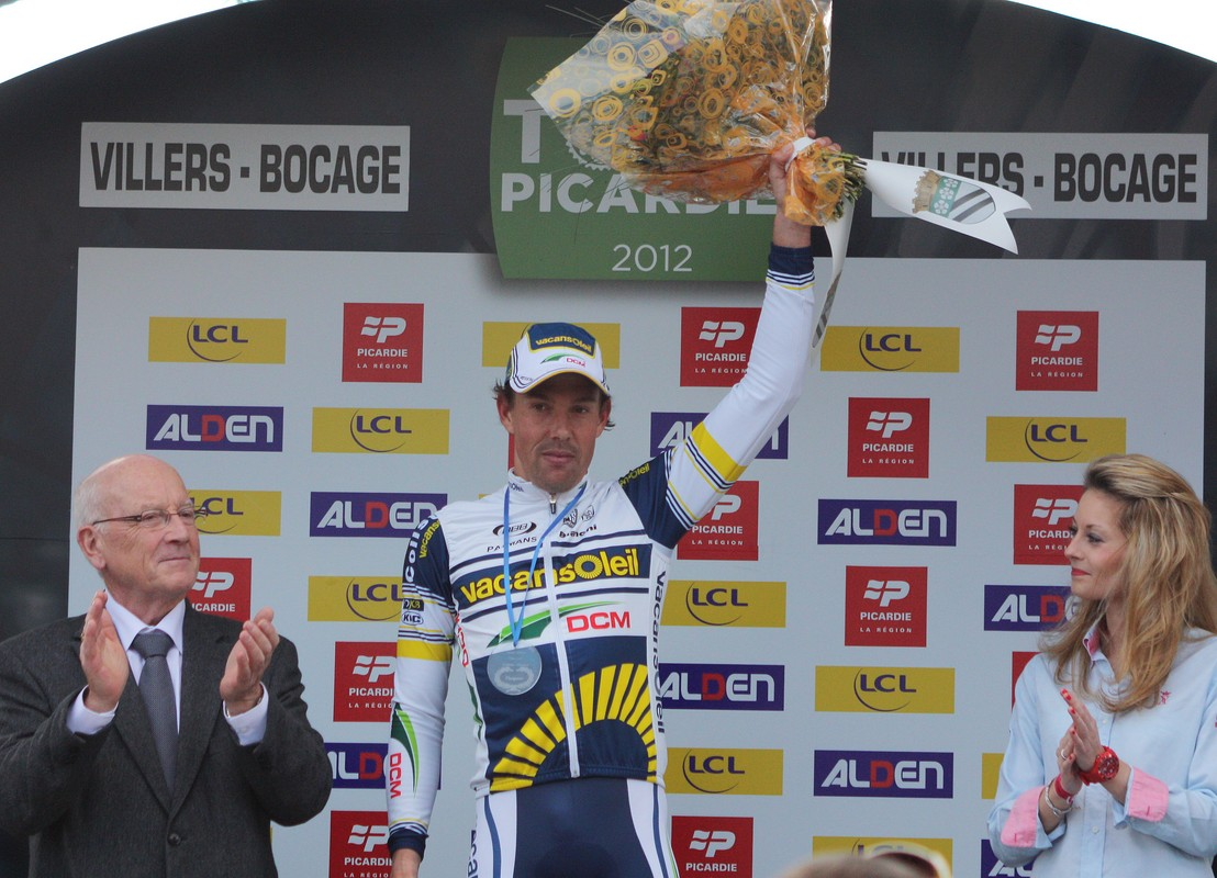 Kenny van Hummel, vainqueur de l'étape