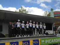 L'équipe Topsport Vlaanderen-Mercator