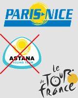 Paris-Nice 2008: team selection announced - Astana stays at home in 2008 ...
