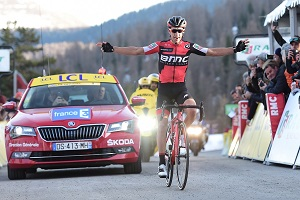 Richie Porte takes the victory in the 7th stage of Paris-Nice, Sergio Henao takes yellow