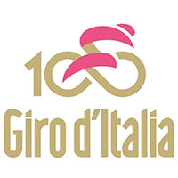 The Tour of Italy 2017 (100th Giro) race route on Google Maps/Google Earth