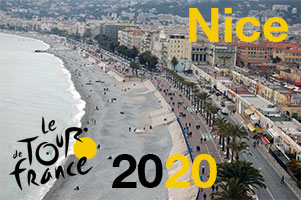 De Tour de France 2020 gaat van start in Nice