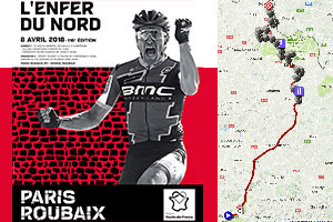 Paris-Roubaix 2018: its race route, cobble stones sections and other details of the Hell of the North